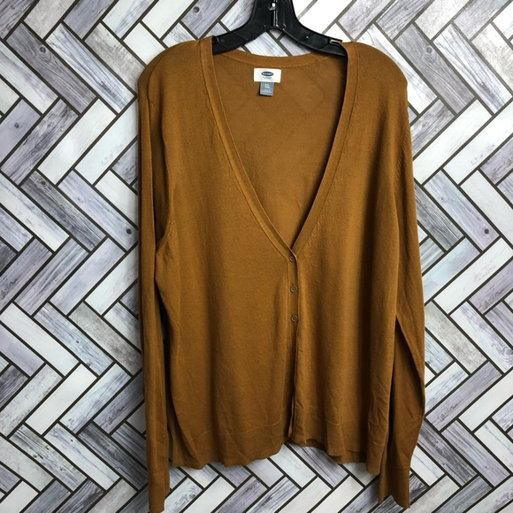 Old Navy Camel Button Front Cardigan NWT